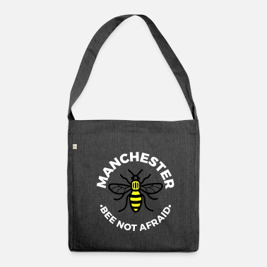 Manchester Manchester - Bee Not Afraid - Shoulder Bag made from recycled material