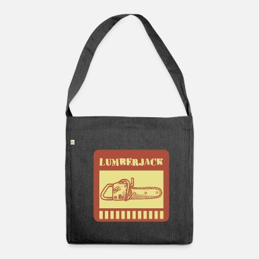 Lumberjack lumberjack - Shoulder Bag made from recycled material
