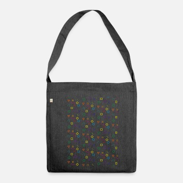 Shape Shapes - Shoulder Bag made from recycled material