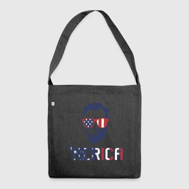 USA - Shoulder Bag made from recycled material