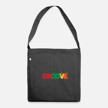 Groove GROOVE groovy grooving - Shoulder Bag made from recycled material