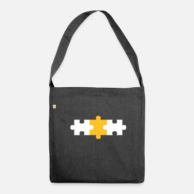 Puzzle puzzle - Shoulder Bag recycled