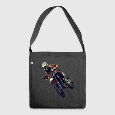 Motocross - Shoulder Bag made from recycled material