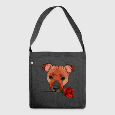 Bull Staffordshire Bull Terrier - Maira - Shoulder Bag made from recycled material