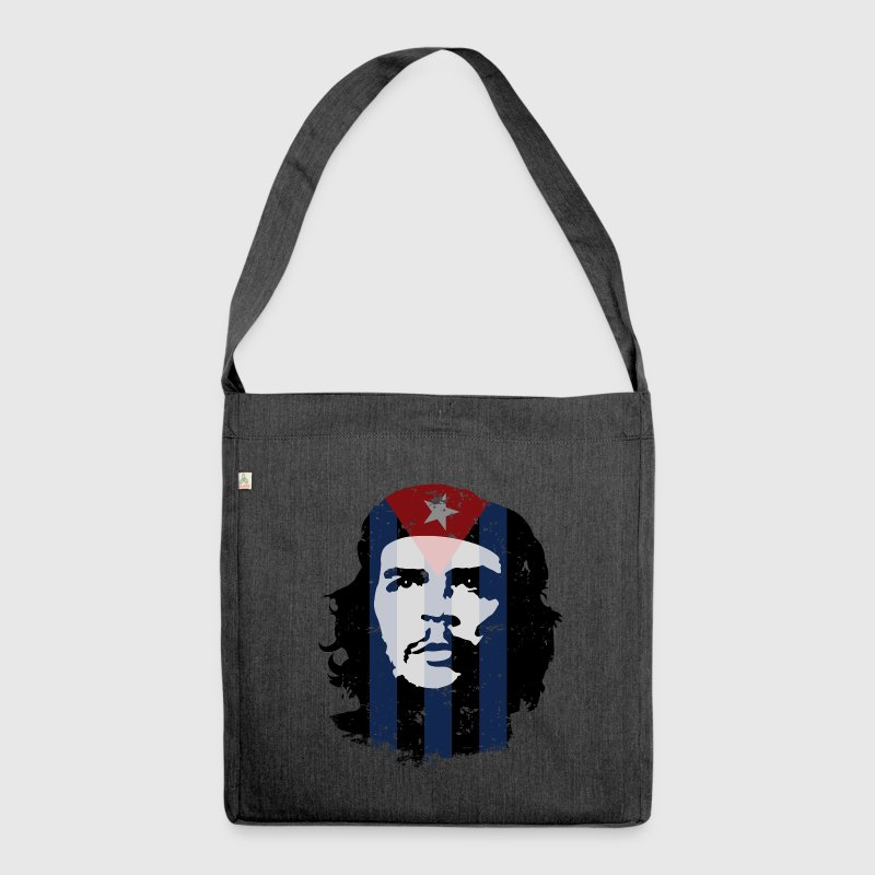 Che Guevara Bag Cuba Flag - Shoulder Bag made from recycled material