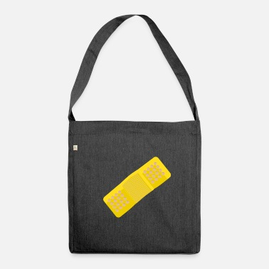 Plasters plaster - Shoulder Bag made from recycled material