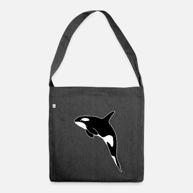 Killer Whale Killer Whale - Shoulder Bag made from recycled material