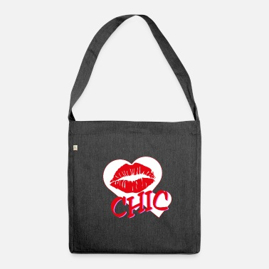 Chic Chic - Schultertasche aus Recycling-Material