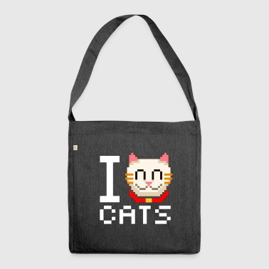 Video Cats Video - Schultertasche aus Recycling-Material