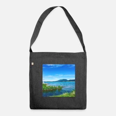 Mousepad Mousepad with beautiful Forggensee panorama - Shoulder Bag recycled