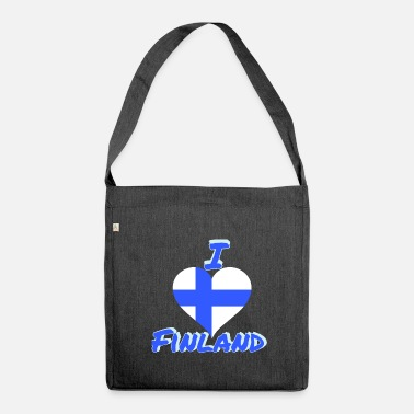 Finland finland - Shoulder Bag made from recycled material