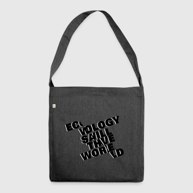 Typo Ecology Typo - Shoulder Bag made from recycled material