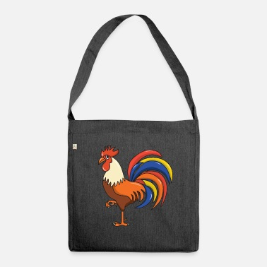 Cock Cock cock - Shoulder Bag made from recycled material