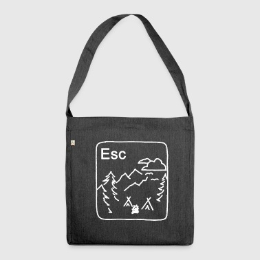 Escape - Shoulder Bag made from recycled material