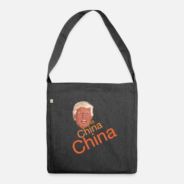 China Donald Trump - China China China - Shoulder Bag recycled