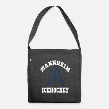 Icehockey Mannheim Icehockey - Schultertasche aus Recycling-Material