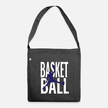Basketball Player Basketball Gift - Basketball Player - Shoulder Bag made from recycled material