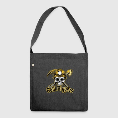 Gold Diggers - Shoulder Bag made from recycled material