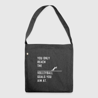 Volleyball Beach Volleyball Volleyballer Gift - Shoulder Bag made from recycled material
