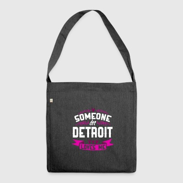 Detroit - Shoulder Bag made from recycled material