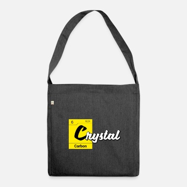 Meth Crystal Periodic Table - Shoulder Bag made from recycled material