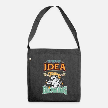 Blasen Funny Denglish saying Denglisch sayings - Shoulder Bag made from recycled material