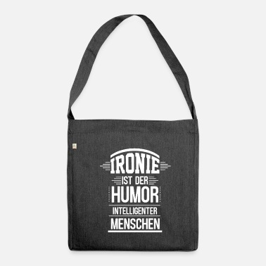 Ironia ironia - Borsa in materiale riciclato