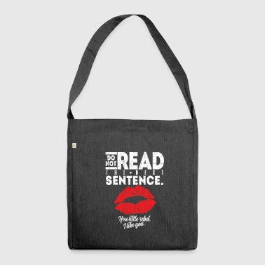 Pickup Line pick-up line - Shoulder Bag made from recycled material