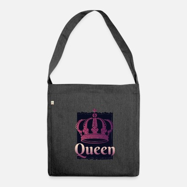 King Queen COOL QUEEN ET KING CROWN - Sac bandoulière 100 % recyclé