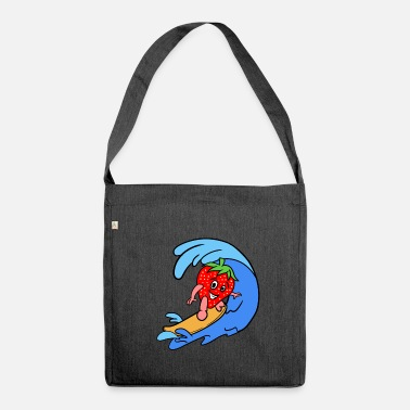 Sporty Sporty Strawberry - Shoulder Bag recycled