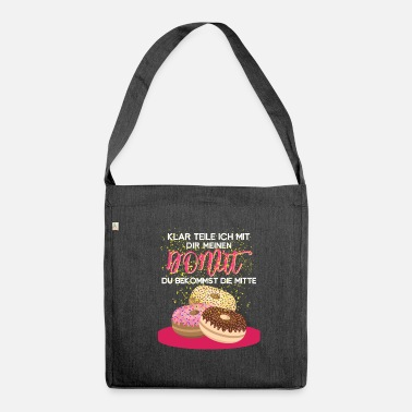 Donut Donut donut - Shoulder Bag made from recycled material