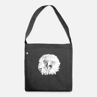 Bald Eagle Eagle / Bald Eagle - Shoulder Bag made from recycled material