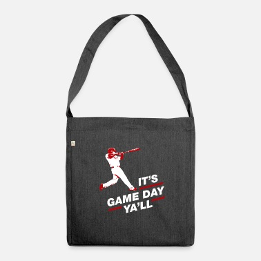 Baseball Baseball baseball player Baseballer gift - Shoulder Bag made from recycled material
