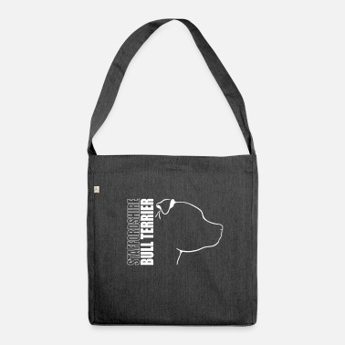 Bull STAFFORDSHIRE BULL TERRIER PROFILE - Shoulder Bag recycled