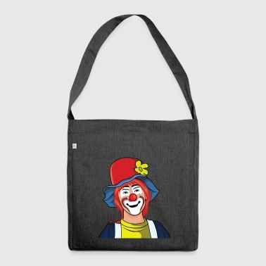 Clown clown - Shoulder Bag made from recycled material