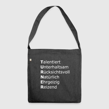 Turner - Schultertasche aus Recycling-Material