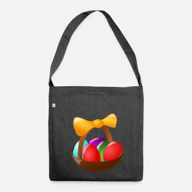 Easter Egg eggs eggs easter easteregg easter eggs easter55 - Shoulder Bag made from recycled material