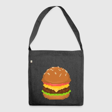 Hamburger - Borsa in materiale riciclato