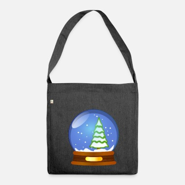 Snowball Snowball - Shoulder Bag made from recycled material