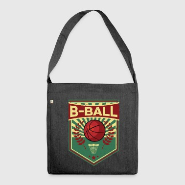 Basketball propaganda - Shoulder Bag made from recycled material