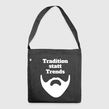 Tradition statt Trends - Schultertasche aus Recycling-Material