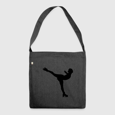 Figure Skating Figure skating - Shoulder Bag made from recycled material