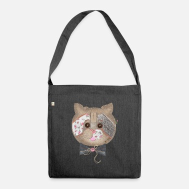 CAT FACE ON CASES - Shoulder Bag recycled