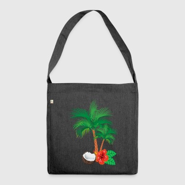 Caribbean flair - Shoulder Bag made from recycled material
