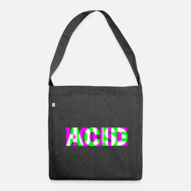 House acid house - Shoulder Bag recycled