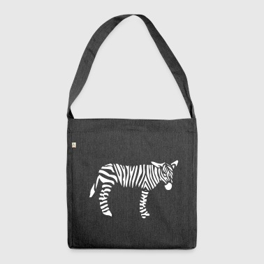 Zebra Zebra zebras - Shoulder Bag made from recycled material