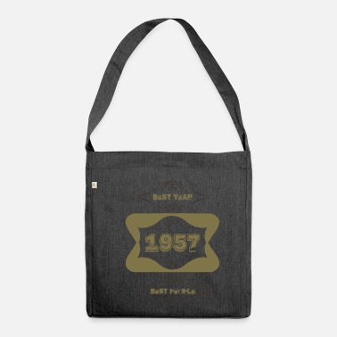 1957 1957 - Schultertasche aus Recycling-Material