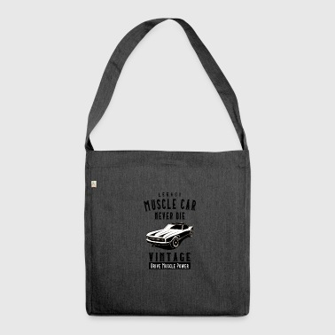 Die Legacy Muscle Car Never Die - Borsa in materiale riciclato