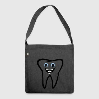 dente - Borsa in materiale riciclato