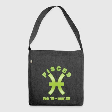 Pisces Horoscope - Shoulder Bag made from recycled material